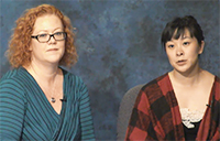 Pam Hinterlong and Stephanie Lau